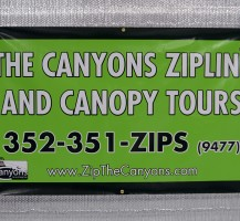 Canyon Zip Line Banner