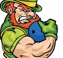 TCHS Leprechaun Bowling Logo