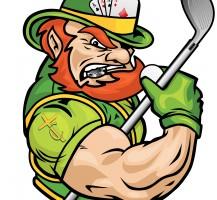 TCHS Leprechaun Golf and Poker Logo