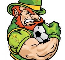 TCHS Leprechaun Soccer Logo