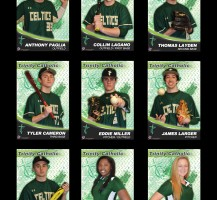 TCHS Baseball 2014 Senior Banners