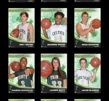 TCHS Basketball 2014 Senior Banners