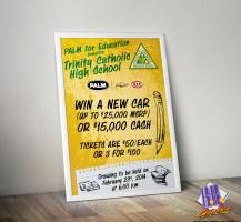 Tchs Carnival 2014 Car Raffle Poster