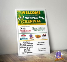TCHS Carnival Welcome Poster