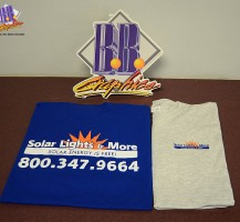 Solar Lights and More T-shirts